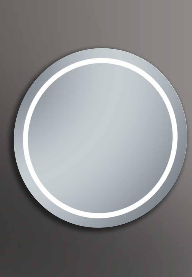 Espejo circular led