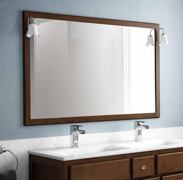 Espejo baño con lampara
