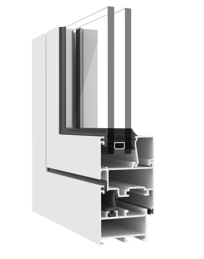 Aluminio ventana