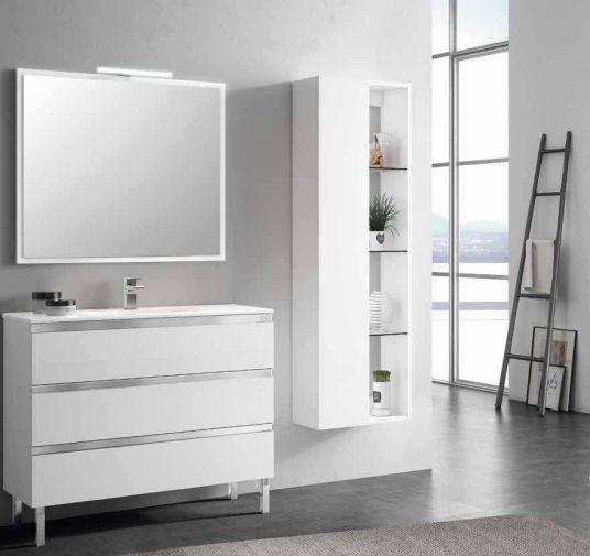 Mueble baño blanco Ubrique