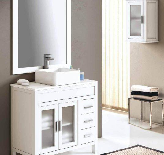 Mueble baño con encimera Ubrique