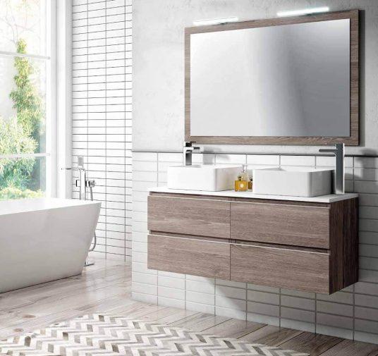 Mueble dos lavabos Ubrique