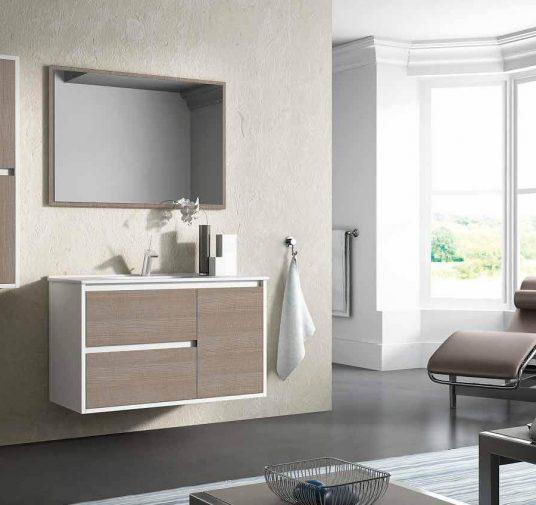 Mueble blanco madera Ubrique