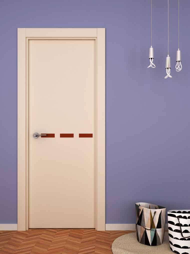 Puerta interior aluminio Ubrique