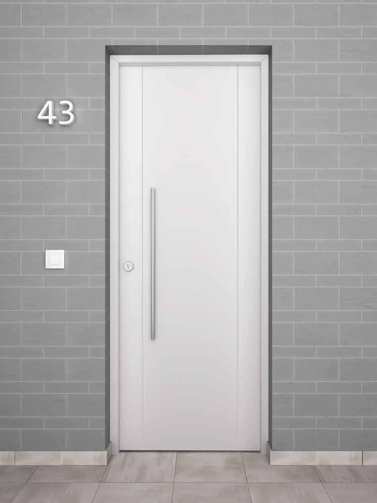Puerta aluminio Ubrique