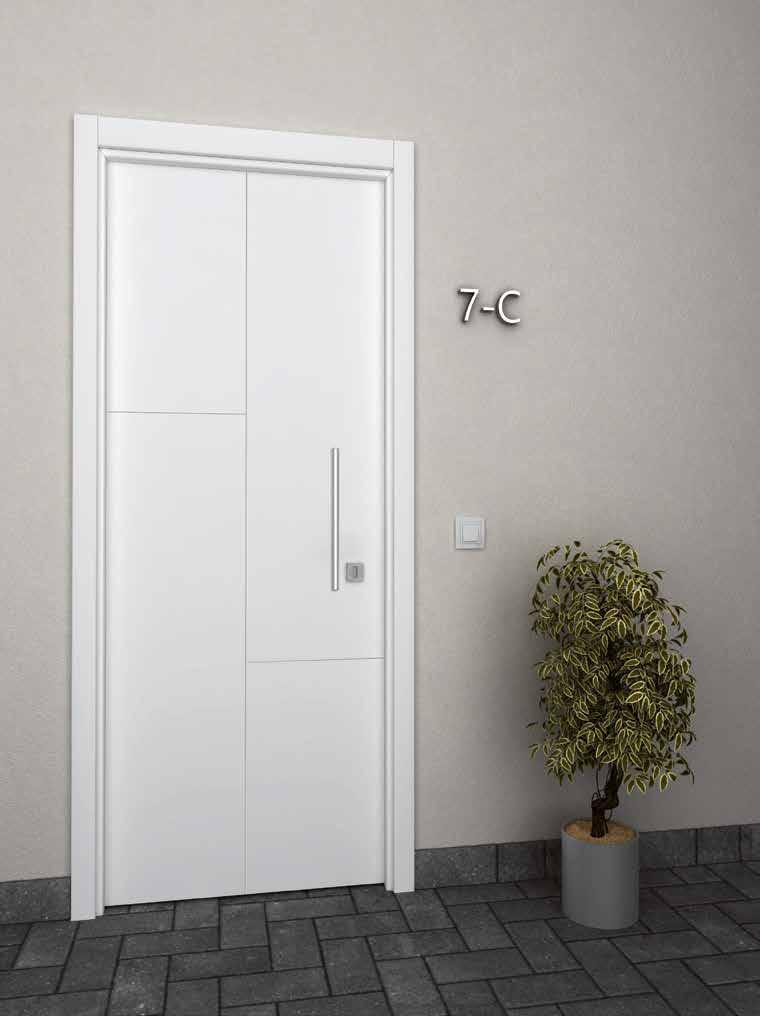 Puerta aluminio exterior
