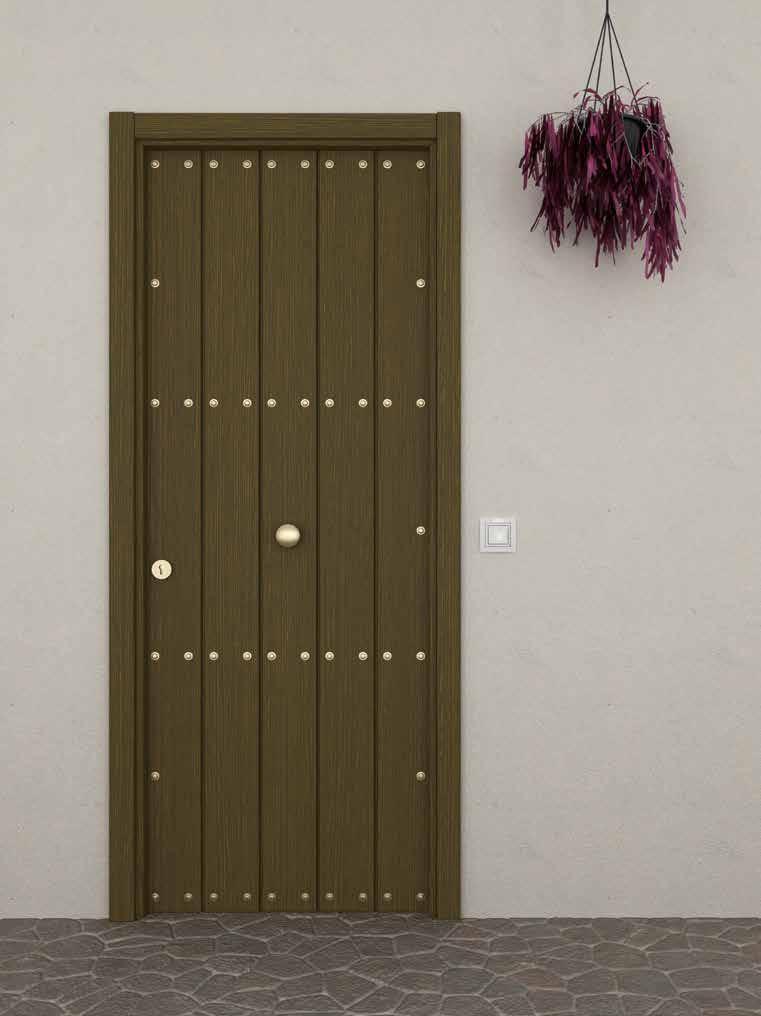 Puerta residencial aluminio Ubrique