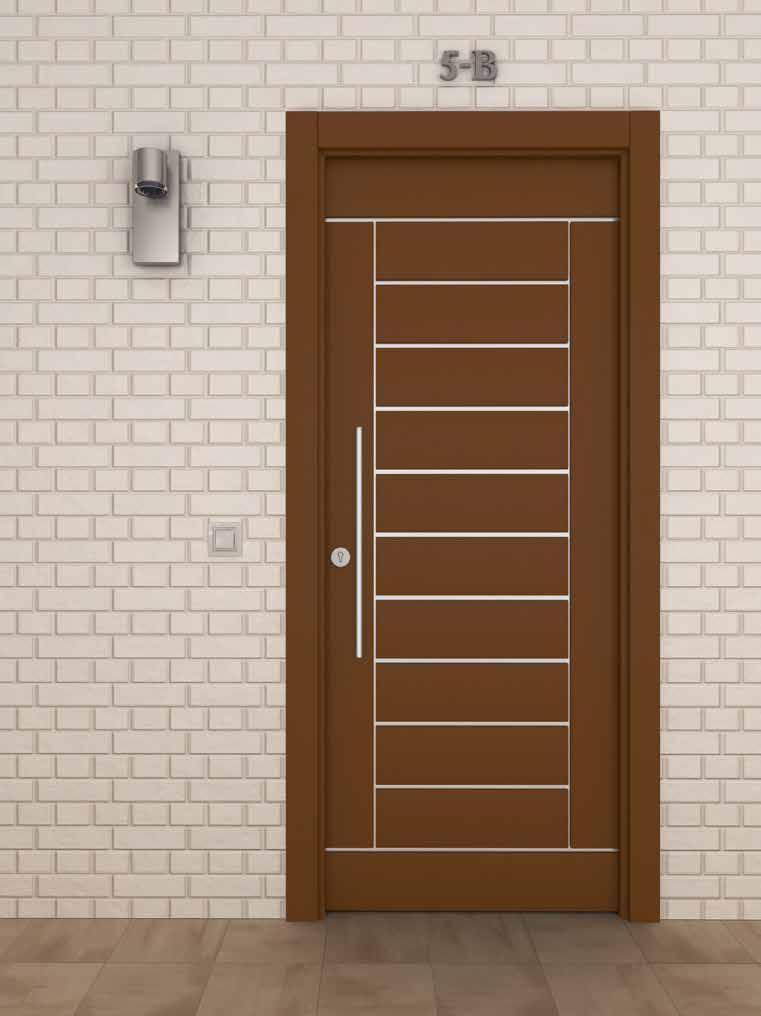 Puertas aluminio Residenciales