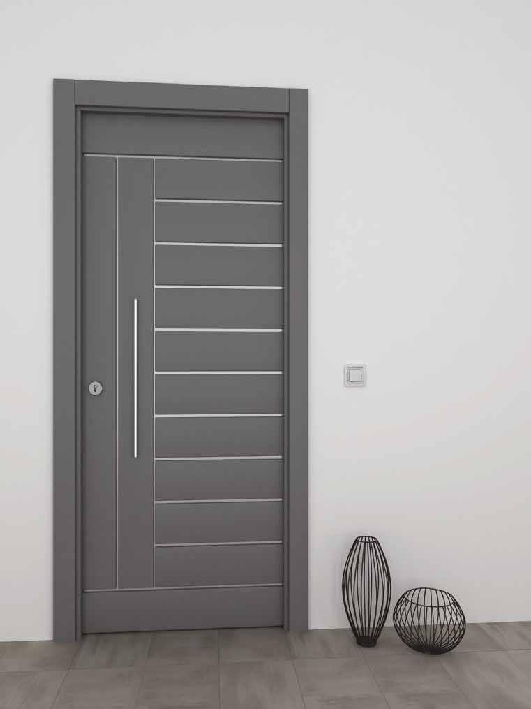 Puerta residencial aluminio