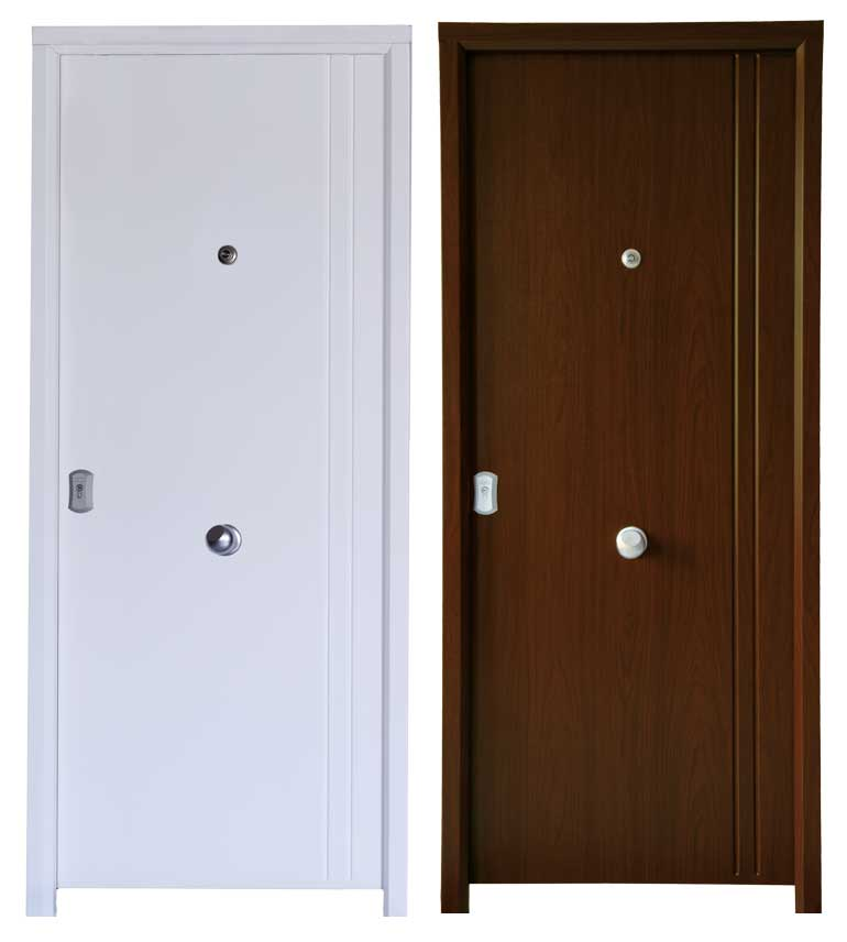 Puerta imitación madera Ubrique
